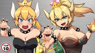 Download Video Top 10 Bowsette Shocking Facts MP3 3GP MP4