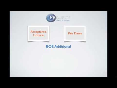 Basis of Estimate (BOE)