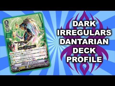 Dark Irregulars Dantarian - Cardfight Vanguard! Standard Deck Profile