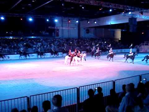 The Household Cavalry Musical Ride in ABU DHABI, United Arab Emirates (UAE) 2009
