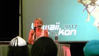 Kawaii Kon 2011 - Wendee Lee - Bleach Characters and Fake Birthdays