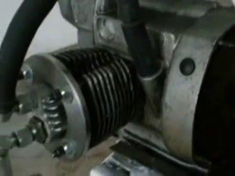Компрессор из мотоциклетного двигателя своими руками