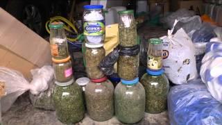 Вилучено фальсифіковану горілку, наркотики та зброю