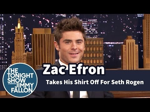 Zac Efron Keeps Taking His Shirt Off For...