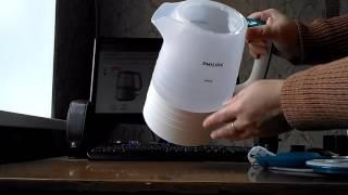 Розпакування електрочайники PHILIPS HD9334/11 від Розетки