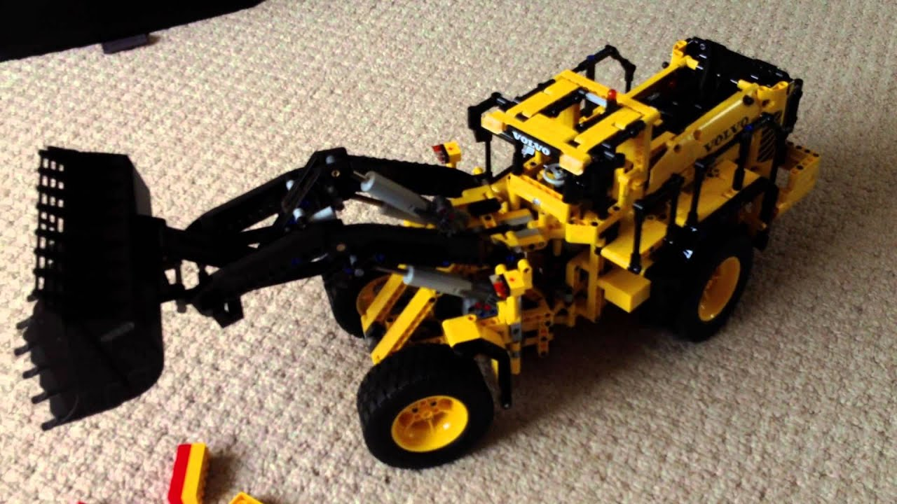 lego technic volvo digger review youtube. Black Bedroom Furniture Sets. Home Design Ideas