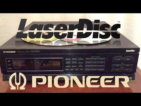 Laserdisc: Pioneer CLD-2070 Multimedia Player Demo & Fix