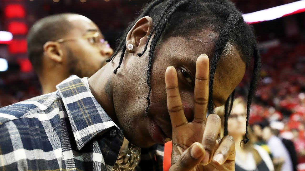 Travis Scott's Alleged Side Chick Crashed His Birthday Party!