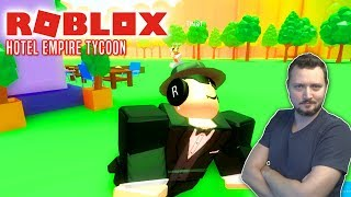 STOP TYVEN! - Roblox Hotel Empire Tycoon Dansk Ep 2