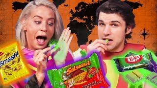 Halloween Candy From Around the World (Cheat Day)