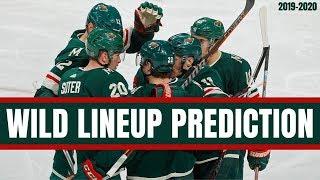 Predicting the Minnesota Wild Opening Night Lineup | NHL 2019-20 Season