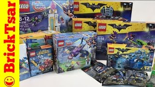 EPIC LEGO BATMAN MOVIE and DC SUPER HERO GIRLS HAUL - New 2017 sets! In Hand!