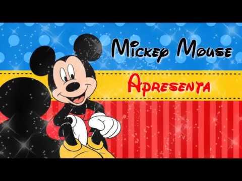 1ae634cf066 Convite Mickey Mouse - YouTube