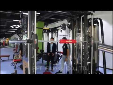 Testing Multi Gym Functional Trainer & Smith Machine - Customers From Saudi Arabia