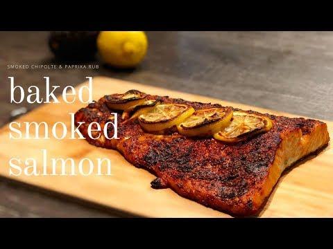 Baked Salmon Oven Roasted | Smokey Rub