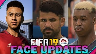 FIFA 19 NEW FACE SCANS! *NOVEMBER UPDATE