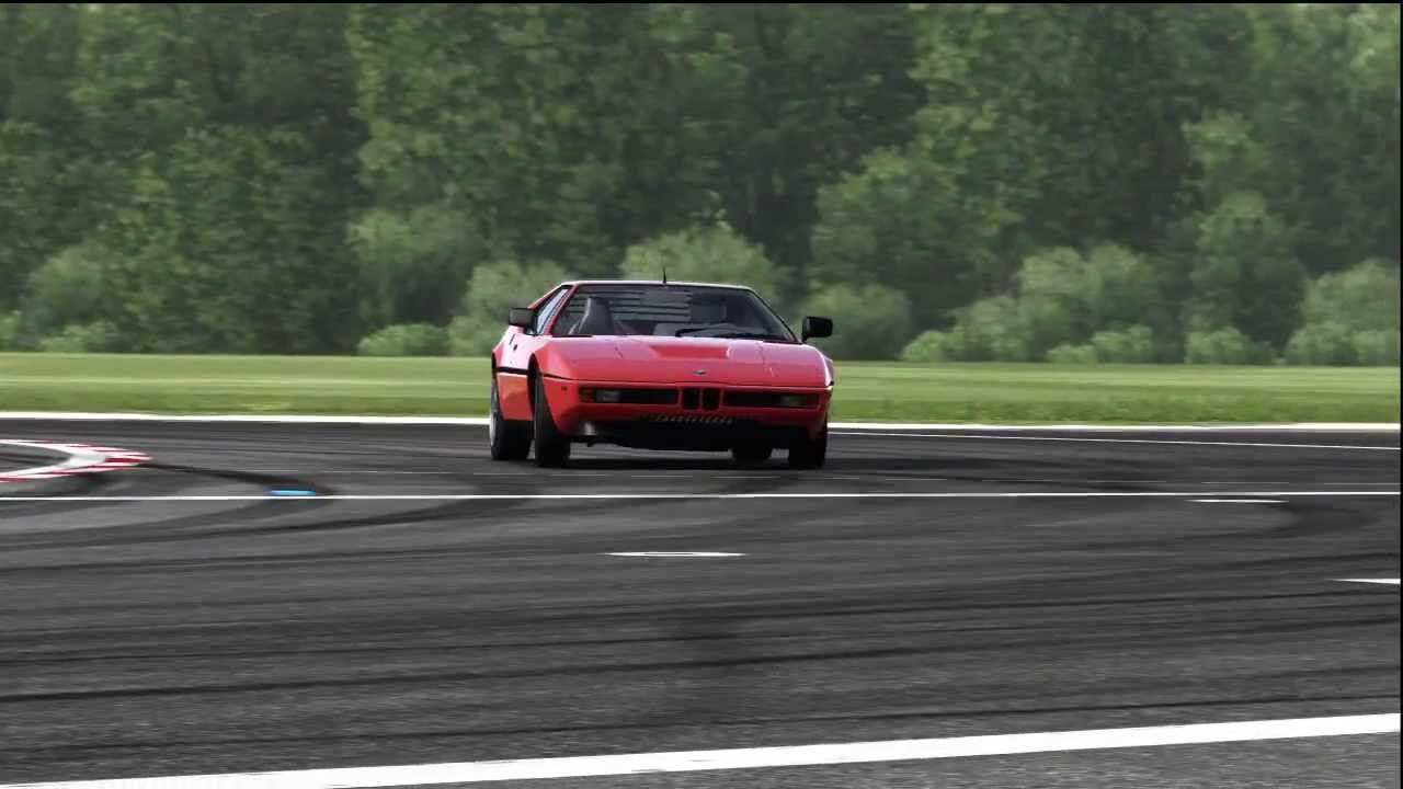 BMW M1 Top Gear Track