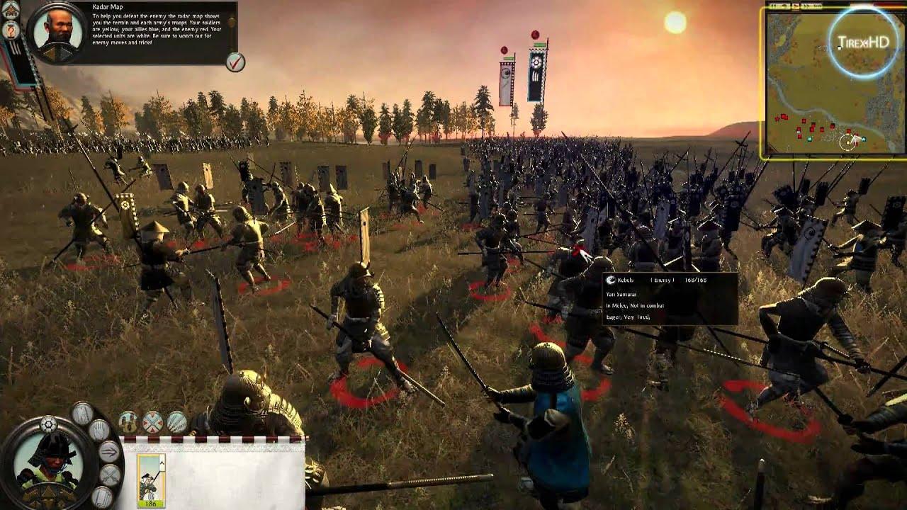 Total War Shogun 2 Fall Of The Samurai Wallpaper Shogun 2 Total War Hd Gameplay Youtube