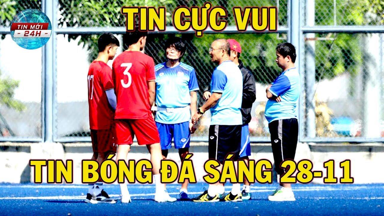 Tin Bóng Đá 28/11: Thầy Park Mỉm Cười U22 Việt Nam Nhận Tin Vui Trước Trận Đấu Với U22 Lào