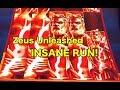 INSANE RUN ON ZEUS UNLEASHED! - YouTube