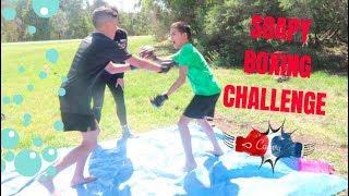 ASIAN VS ARAB | SOAPY BOXING CHALLENGE!