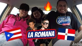 Bad Bunny x El Alfa - La Romana (REACTION REVIEW)