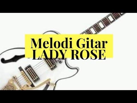 Tutorial melodi gitar LADY ROSE (Superman IS Dead)