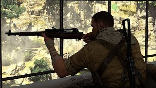 Sniper Elite 3: Authentic Difficulty Final Mission & Ending Gameplay