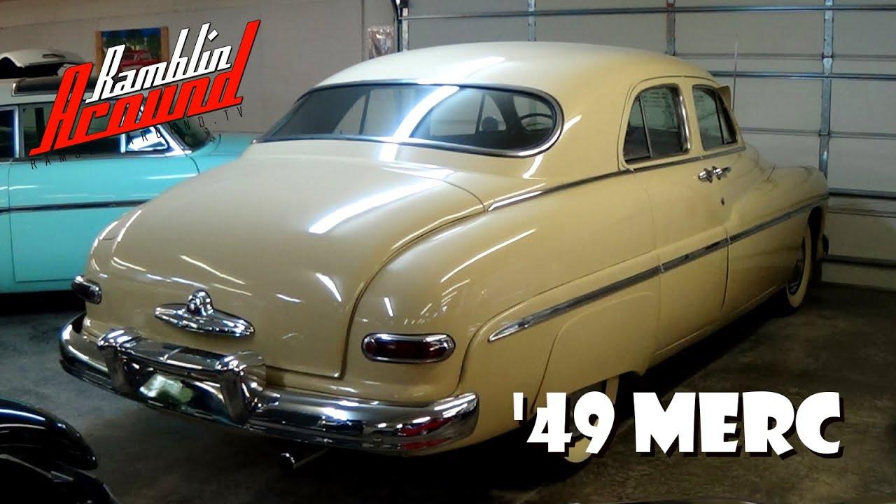 1949 Mercury Sedan 255 Flathead V8 Youtube
