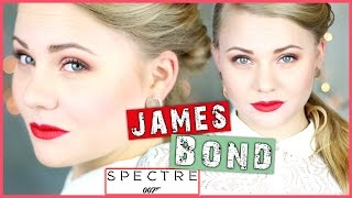 HOLIDAY LOOK - JAMES BOND SPECTRE Inspired | Haare & Make Up | Léa Seydoux