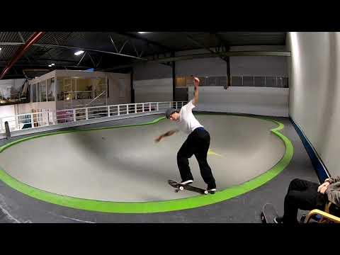 Fredrik Tangerud Skater Miniramp, Bowl Og Street