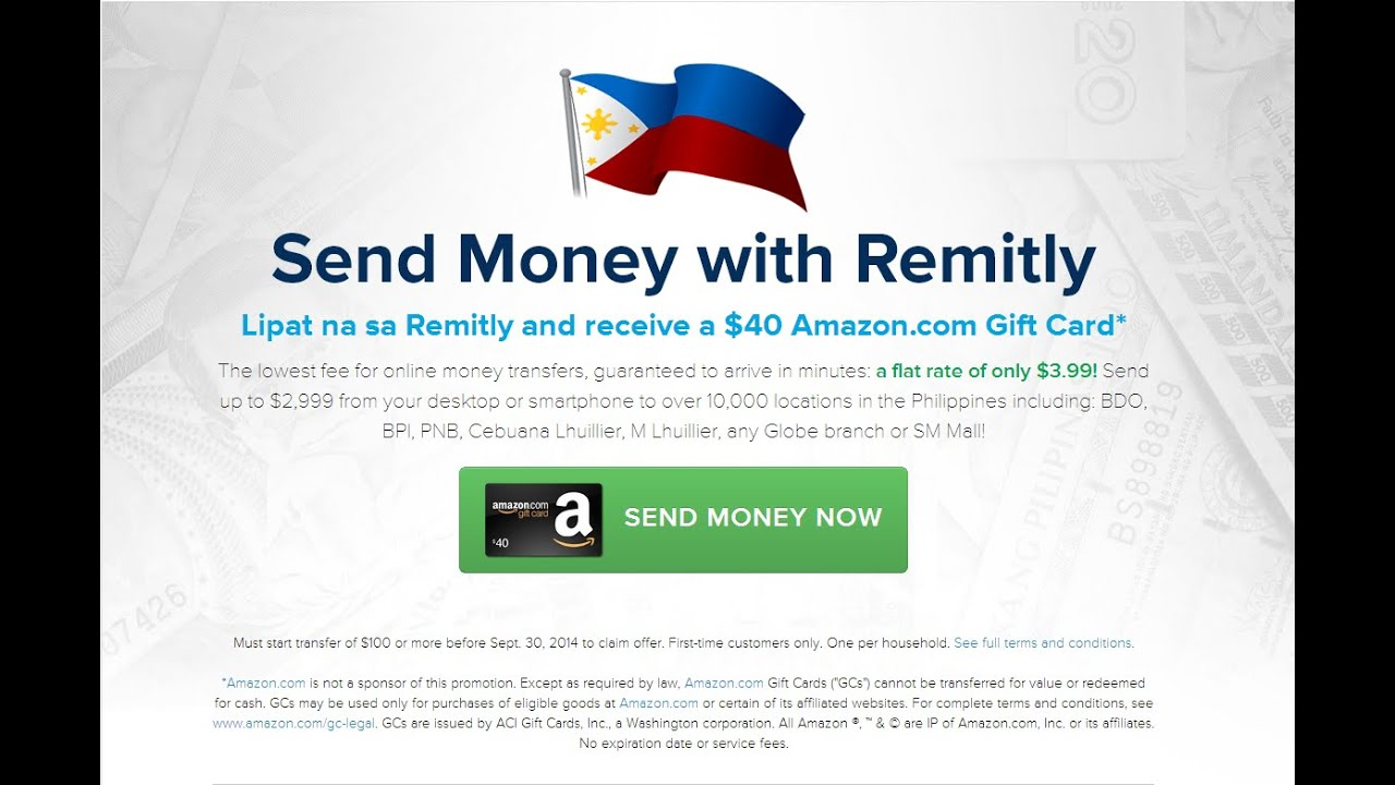 Send Money To Philippines Online Using Remitly Transfer Http Remit Ly 1n4gbc7