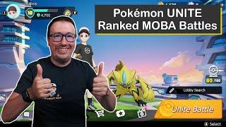 Pokémon UNITE Ranked MOBA Matches with Zeraora