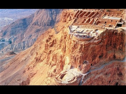 Masada, the fortress of King Herod, Israel. Tour Guide: Zahi Shaked. September 15, 2015