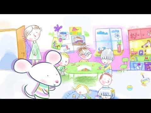 Myszka w paski | Dobre maniery | Mówimy dzień dobry | bajki dla dzieci MiniMini+
