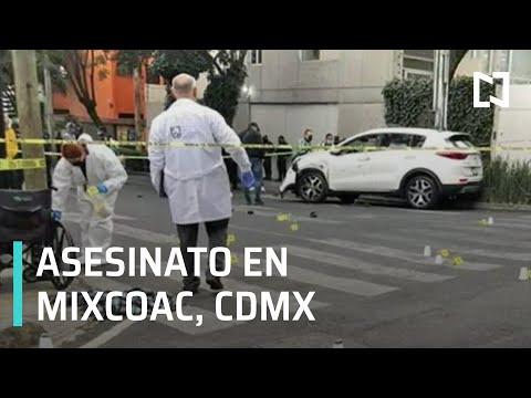 Investigan asesinato de hombre en la colonia Mixcoac, CDMX - Despierta