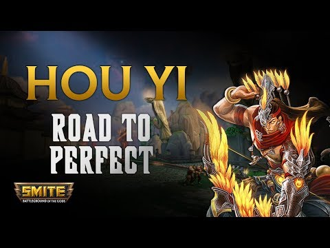 SMITE! Hou Yi, Empezamos y con mirror xD! Road To Perfect S5 #1