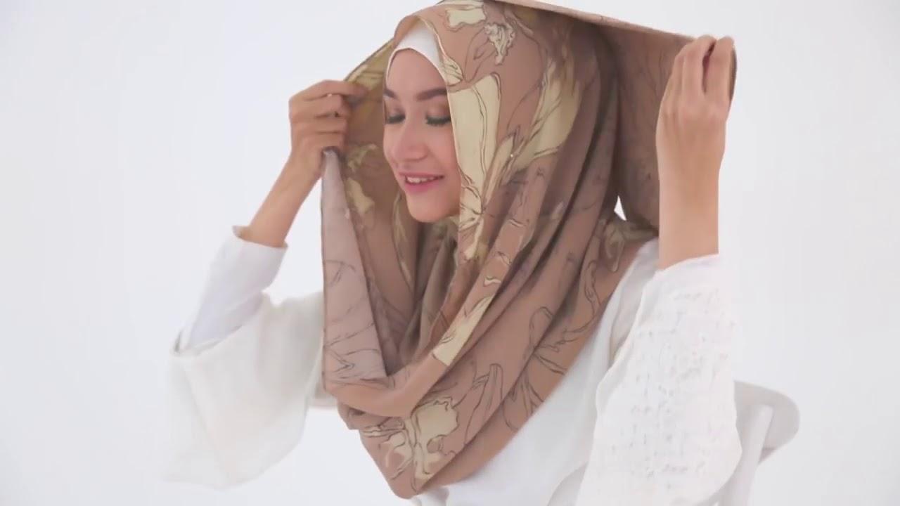 Gambar Tutorial Hijab Ala Rina Nose  Tutorial Hijab