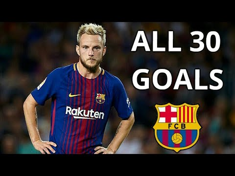 Ivan Rakitic All 30 Goals for FC Barcelona 2014-2018