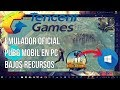 ▶️PUBG movil en PC - EMULADOR TENCENT OFICIAL bajos recursos I Playerunknown Mobile en PC |