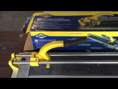 "QEP 35"" Manual Tile Cutter How-To - Real Home Project"