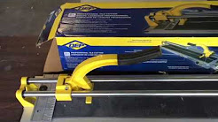 """QEP 35"""" Manual Tile Cutter How-To - Real Home Project"""