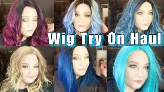 Ebony Line Wig Try On Haul