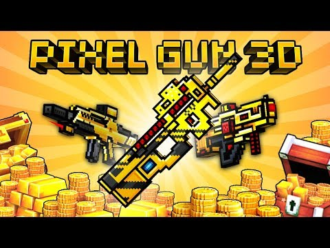 5 Best Primary Weapons you should Buy in Pixel Gun 3D [15.9] NEW