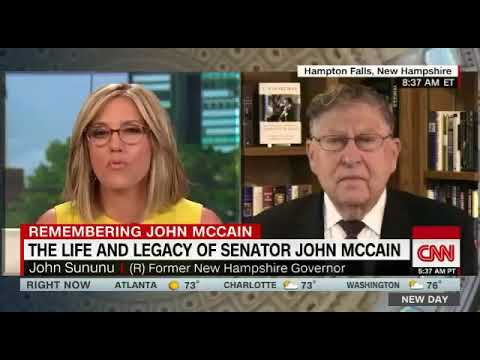 John Sununu Sets Obnoxious CNN Interviewer Straight!