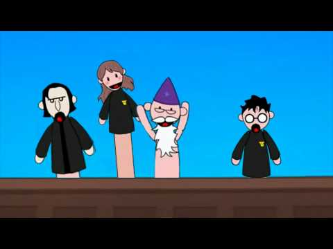 Potter Puppet Pals: The mysterious ticking noise (Cartoon version)
