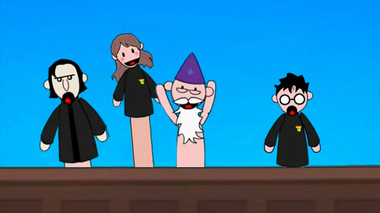how to make potter puppet pals