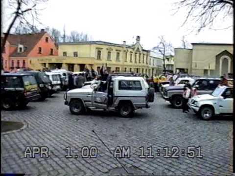 """Džipų ralis """"Klampi pėda 2000"""" Klaipėda"""
