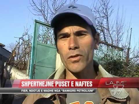 Shpërthen pusi i naftës në Marinzë - News, Lajme - Vizion Plus