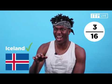 World Cup 2018 Quiz with KSI !!!